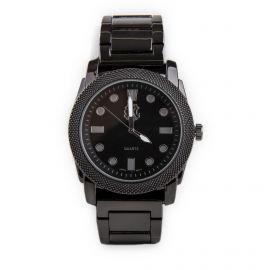 Montre noire bracelet à maillons pour homme CHRISTIAN LACROIX marque pas cher prix dégriffés destockage