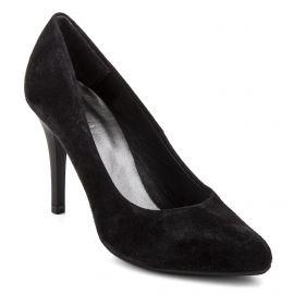 Escarpin cuir noir Femme EMMA marque pas cher prix dégriffés destockage