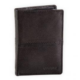 Portefeuille en cuir noire homme TORRENTE marque pas cher prix dégriffés destockage