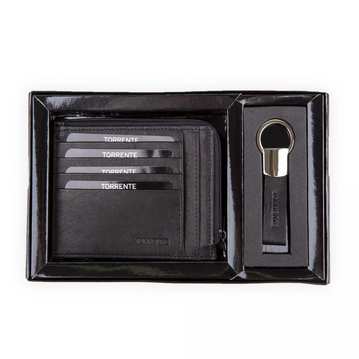 ... Coffret Porte cartes   Porte clés Homme TORRENTE marque pas cher prix  dégriffés destockage ... bc81f06fccf