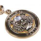 Collier chaîne pendentif tête de tigre plaqué or femme KENZO marque pas cher prix dégriffés destockage