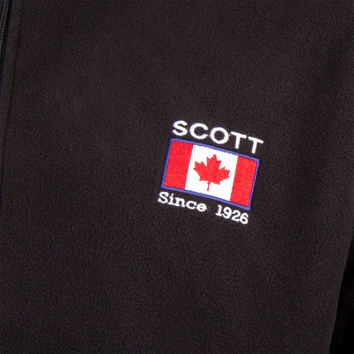 Dante Gilet Polaire Zippé Scott Dégriffé Homme À Prix qqEfx1