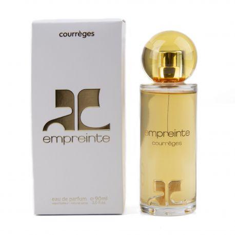 Parfum Eau de parfum Empreinte 90ml Femme COURREGES marque pas cher prix dégriffés destockage