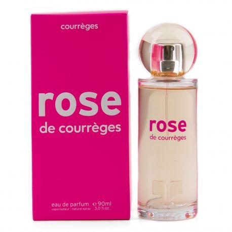 Parfum Eau de parfum Rose 90ml Femme COURREGES marque pas cher prix dégriffés destockage