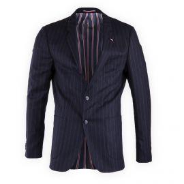 Veste blazer rayée homme TOMMY HILFIGER marque pas cher prix dégriffés destockage