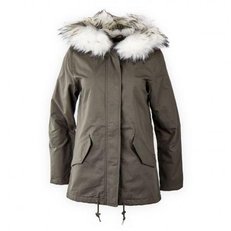 Manteau parka femme pas cher