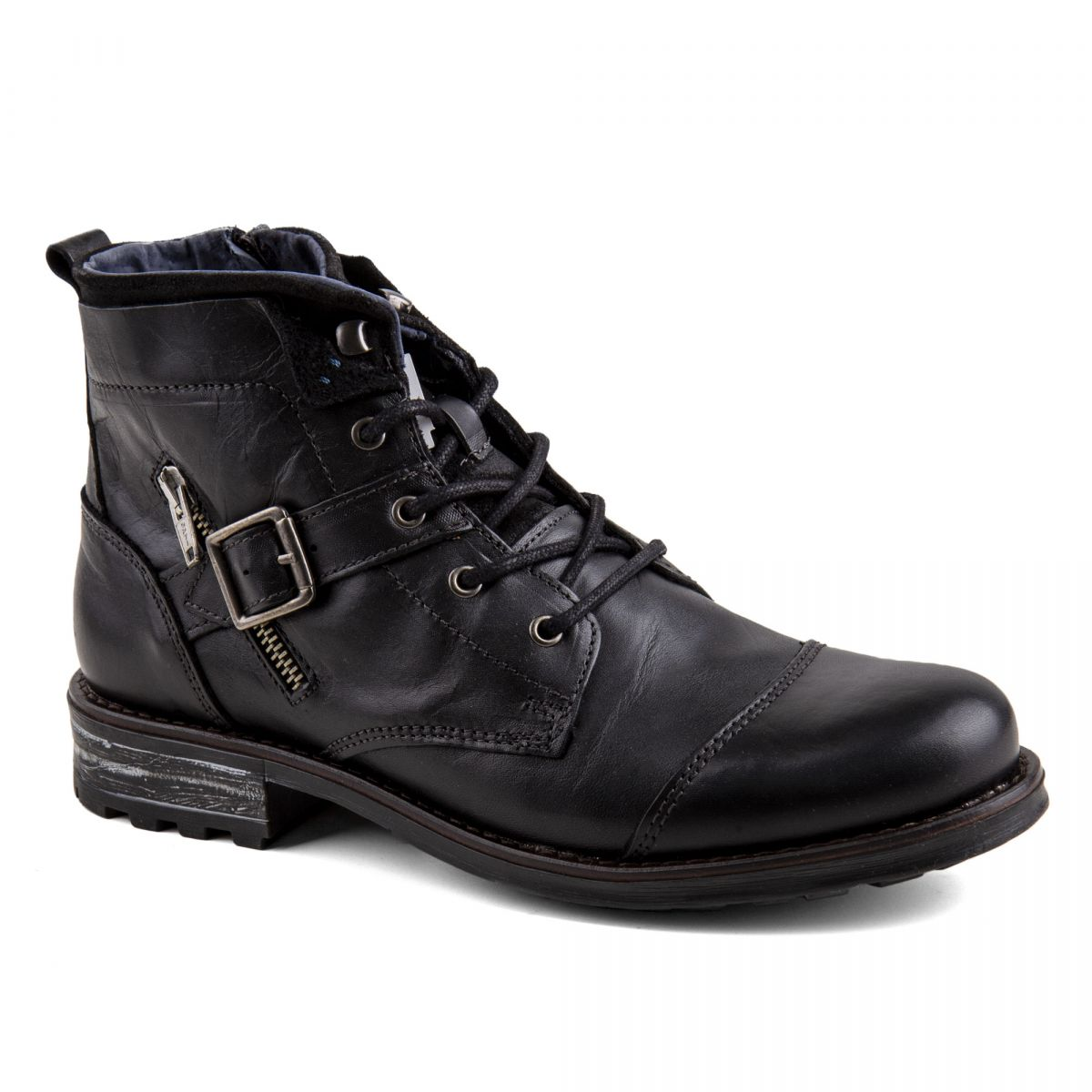 bottines en cuir homme destockage