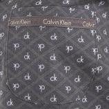 Haut de pyjama gris Femme CALVIN KLEIN marque pas cher prix dégriffés destockage