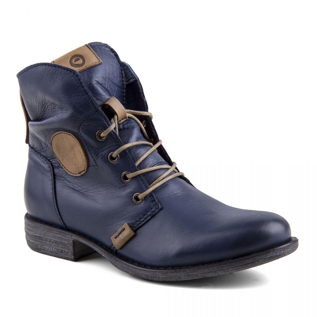 bfdd9f0245f93 ... Boots cuir Femme ORLANDO marque pas cher prix dégriffés destockage ...