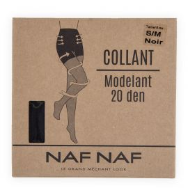 Collant modelant 20 deniers Louise Femme NAF-NAF marque pas cher prix dégriffés destockage