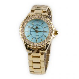 Montre bracelet cuir Femme KIM & JADE