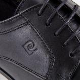 Chaussures derbies noires cuir Cris Homme PIERRE CARDIN marque pas cher prix dégriffés destockage