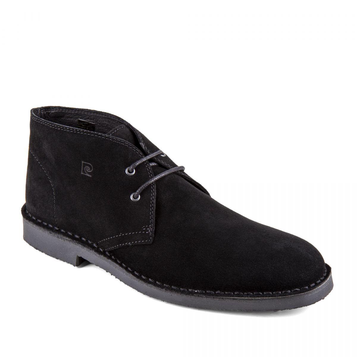 Chaussures Galo Pierre Noires Cuir Homme Retourné Montantes Derbies vbfy7gY6