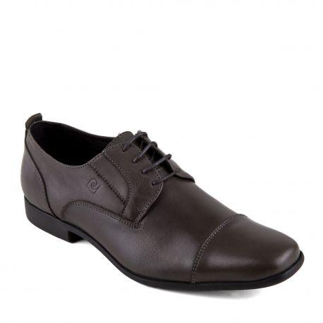 Chaussures derbies noires cuir Fuori Homme PIERRE CARDIN marque pas cher prix dégriffés destockage
