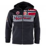 Sweat à capuche zippé Enfant GEOGRAPHICAL NORWAY