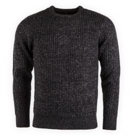 PULL COL ROND T104 NOIR