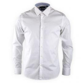 0d762ff6dff Chemise blanche slim fit manches longues Homme TORRENTE marque pas cher  prix dégriffés destockage