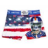 Boxer imprimé singe drapeau américain Garçon CAMPS UNITED