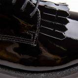 Derby 7148-bela noir patte mexic. vernis cuir MIDREIA marque pas cher prix dégriffés destockage