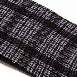 Collant fantaisie noir à carreaux femme LITTLE MARCEL marque pas cher prix dégriffés destockage