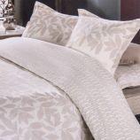 Parure de lit housse de couette & taies d'oreiller 100% percale de coton AZZARO marque pas cher prix dégriffés destockage