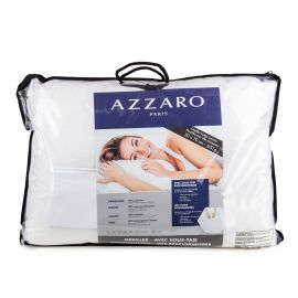 Oreiller avec sous-taie 50x70cm AZZARO marque pas cher prix dégriffés destockage