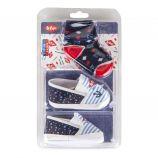 Ensemble chaussons rayés + chaussettes bébé LEE COOPER