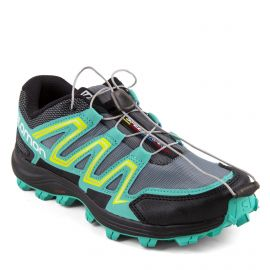 Baskets de trail Quicklace Atlantis Speedtrak Femme SALOMON