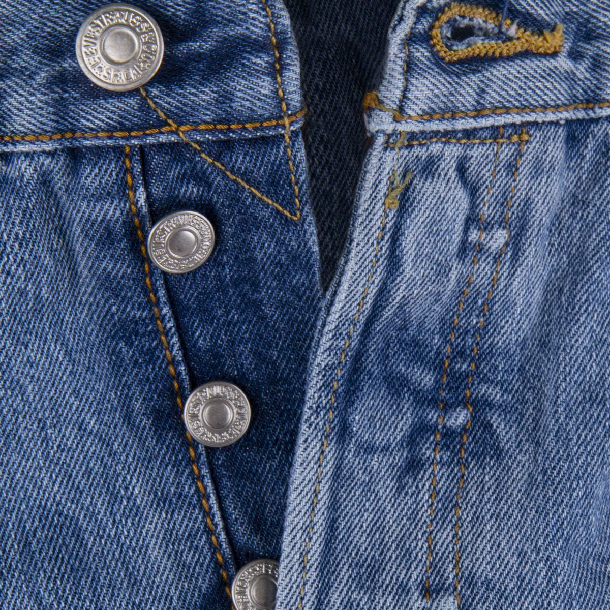 3b5084a7dc2 ... Jean bleu clair homme 501 Original fit LEVIS marque pas cher prix  dégriffés destockage ...