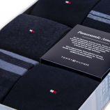 Coffret 5 paires de chaussettes homme TOMMY HILFIGER marque pas cher prix dégriffés destockage