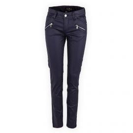Pantalon enduit bleu foncé femme BEST MOUNTAIN marque pas cher prix dégriffés destockage