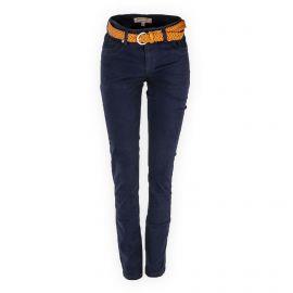 Pantalon en toile coupe slim femme BEST MOUNTAIN marque pas cher prix dégriffés destockage