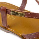 Sandales plates CHOUETTE Femme LES TROPEZIENNES PAR M.BELARBI marque pas cher prix dégriffés destockage