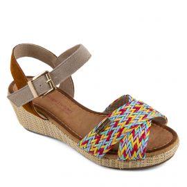 Sandales compensées GULLY Femme LES TROPEZIENNES PAR M.BELARBI