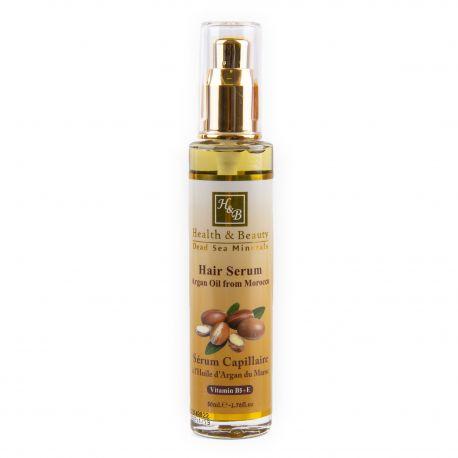 Serum capillaire huile argan 50ml HEALTH & BEAUTY