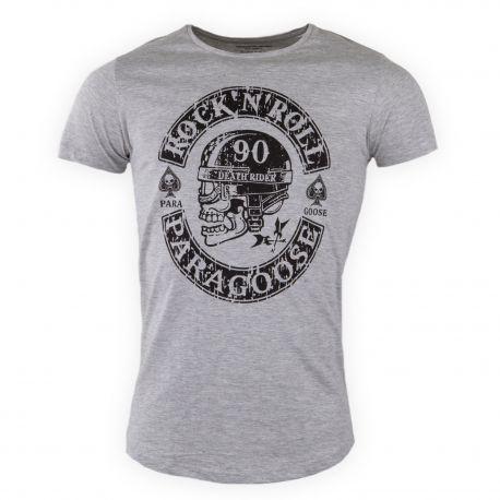 Tee shirt imprimé floqué Homme Weekender PARAGOOSE marque pas cher prix dégriffés destockage