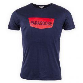 Tee shirt uni floqué Homme KOSH PARAGOOSE marque pas cher prix dégriffés destockage