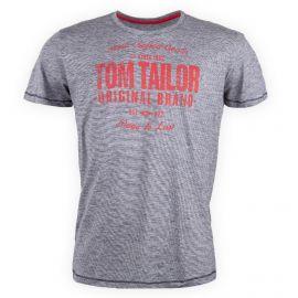 Tee shirt floqué manches courtes homme TOM TAILOR