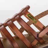 Sandales à brides lisses HERILO femme LES TROPEZIENNES PAR M. BELARBI marque pas cher prix dégriffés destockage