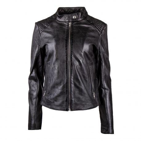 coupon de réduction aperçu de 100% qualité garantie Blouson cuir femme Fiona MEMENTO CLOTHING