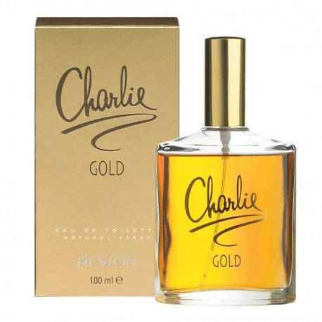 """Parfum Eau de Toilette """"Charlie gold"""" 100ml Femme REVLON marque pas cher prix dégriffés destockage"""