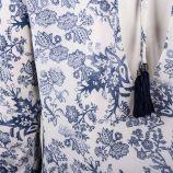 Robe manches longues motif fleurs Femme DDP marque pas cher prix dégriffés destockage