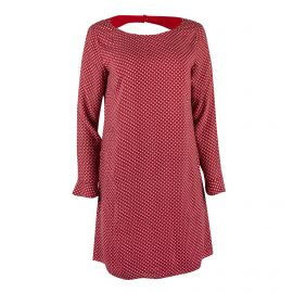 Robe imprimée rouge Femme DDP