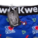 Boxer 40040000 i love Garçon KWELL marque pas cher prix dégriffés destockage