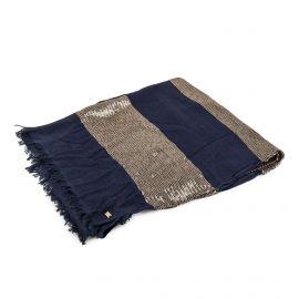 Foulard bleu foncé à sequins Femme TOMMY HILFIGER