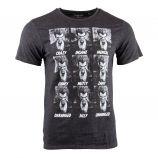 Tee shirt Batman Joker manches courtes Homme MARVEL marque pas cher prix dégriffés destockage