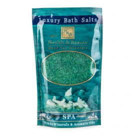 Sel de bain vert (500g) Femme HEALTH & BEAUTY