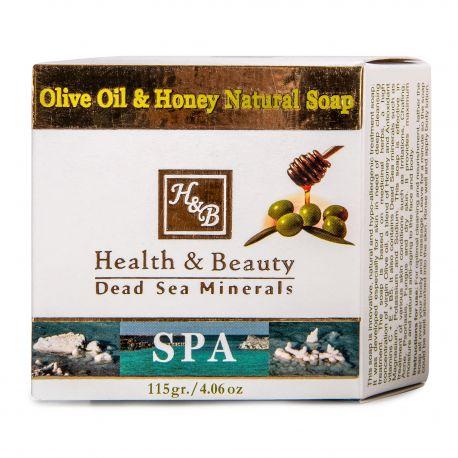 Savon naturel huile d'olive & miel (125g) Femme HEALTH & BEAUTY