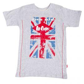 Tee shirt manches courtes drapeau angleterre glc8019 Enfant LEE COOPER