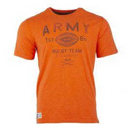Tee shirt manches courtes orange Homme RUCKFIELD